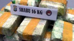 POLISI PENYELUNDUP 16 KG SABU DI RIAU DIVONIS SEUMUR HIDUP