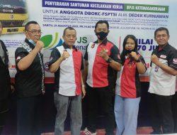 FSPTSI-DBOKC Adakan Vaksinasi Gratis Anggota Lintas Driver Pengemudi Indonesia